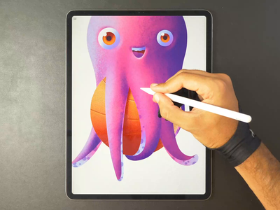 Octopus drawing icon octopus character illustration