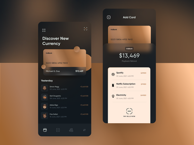 Payment App app design ui ux typogaphy applications branding graphic design