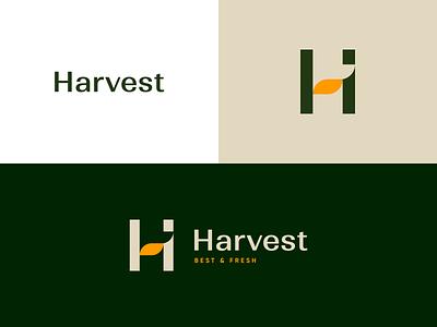 Harvest Logo - 1 vector illustration branding typogaphy ui design ux applications app logodesign logo