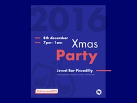 Xmas Party Invitation