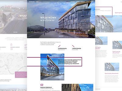 Kilinskiego Office - Full Website web typography ux ui interface webdesig