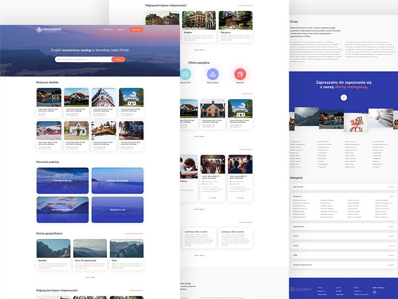 Infoturystyka.pl - Redesign - Home page