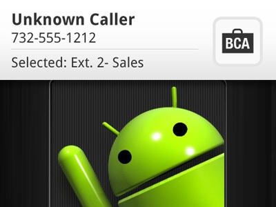 Bca mobile ui android