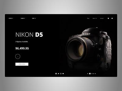 Cameras Web Design latest uiuxdesign uidesign uiux designs new branding web typography art ux ui design