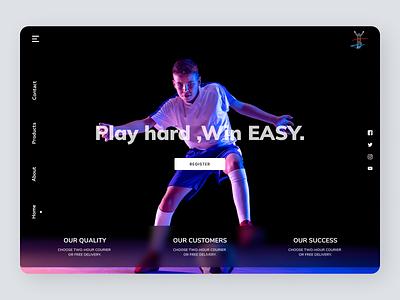 Player Persona branding website uiuxdesign uiux new designs web ux ui design