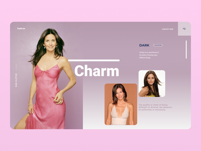 Celebrity Persona branding website uiuxdesign uiux new designs design web ux ui