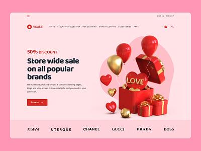 Online Gifts Web Design web ux ui design