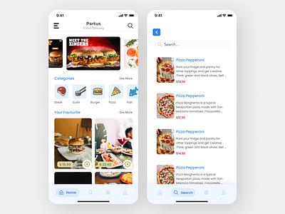 Food App uidesign uiux newdesign new designs foodapp food art app ux ui design