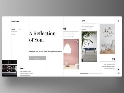 Interioir web uxde uidesign new firstshot designs minimal web ux ui design