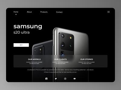 Samsung Products uxde uidesign new minimal firstshot designs web ux ui design