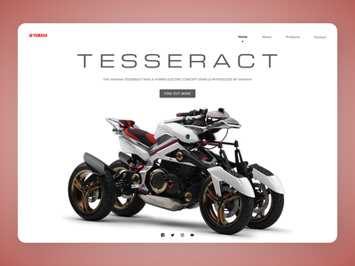 Bikes Web Design minimal clean uidesign new designs eclean design web ux ui
