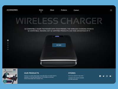 Electronics products clean latest uidesign new designs eclean design ui web ux