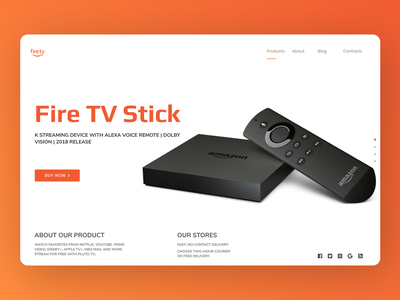 Tv Sticks online minimal web design webdesign new web ui typography ux design
