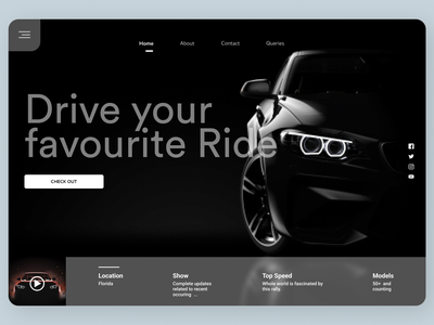 Cars Online webdesign desktop desin new website web typography ux ui design