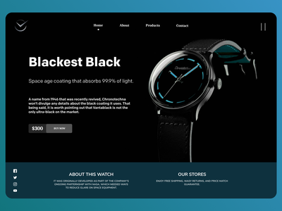 Online Watches Web Design uiux shopify uiuxdesign uidesign designs web typography ux ui design