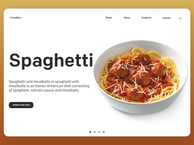 Food  web shop shopify uiuxdesign uidesign typography designs web ux ui design