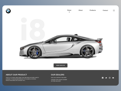 Cars Landing Page shop uiux shopify uiuxdesign uidesign designs design web ux ui