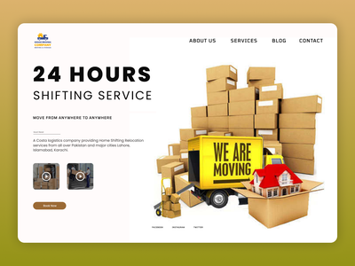 Shifting Service shop uiux shopify web uiuxdesign uidesign designs design ux ui