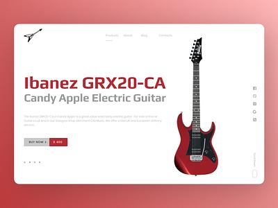 Music Instrument uiux uidesign branding newdesign new desgin web design ux ui