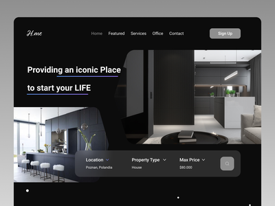 Interior web design art shopify designer website uxdesign uidesign designs new branding web app ux ui design