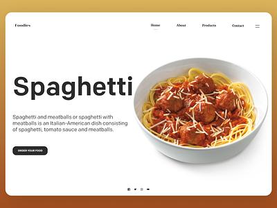 Food Web uiuxdesign uidesing uiux new uidesign branding minimal ux ui design