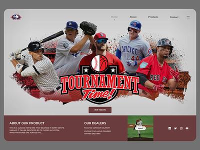 Tournament League uidesing website uidesign uxdesign new branding minimal design ux ui