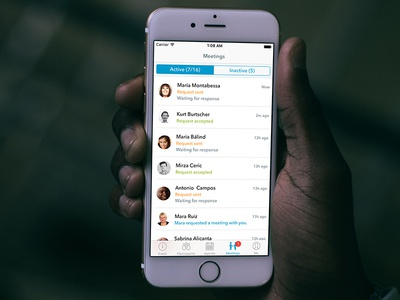 Meetings Inbox - Event Networking App