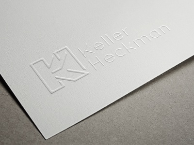 Keller and Hekman Law firm  graphic design acronym logo design branding logotype
