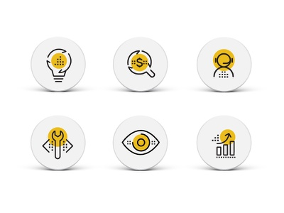 Power BI Icon design iconography ux illustration design icon
