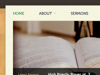 Peace Reformed Church homepage snippet