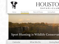 Houston Safari Club website