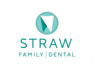 Straw Family Dental Logo dental logo