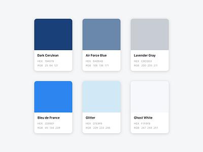 MathMate Color Palette 🍭 app ux ui swatches styleguide pantone mathmate palette color
