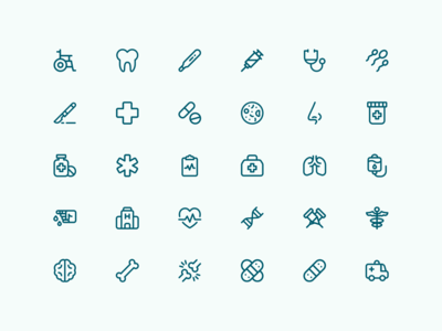 Medical & Health | Bazik Icons