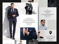 Clothing Collection Landing Page