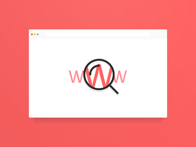 Web Search lingo product visual design search feature illustration