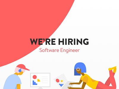 Hiring: Software Engineer product software developer engineer tech work opportunity job hire