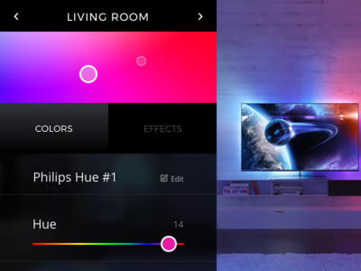 Day 01 : Philips Hue Concept
