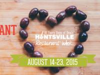 Huntsville Restaurant Week Billboard