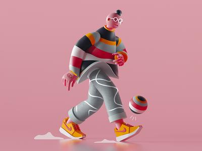 Walking Character