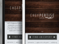 Chefpertise Guide Web App