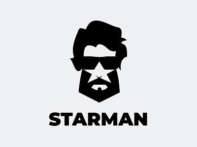 STARMAN branding man logo beer star