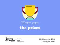 Startup Weekend Iasi 2016 | Prizes