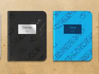 Notebooks full
