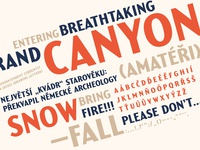 Yellowstone Typeface