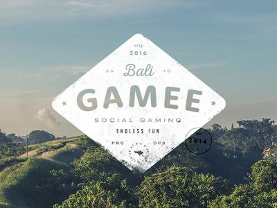 GAMEE on Bali – badge