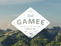 GAMEE on Bali – badge