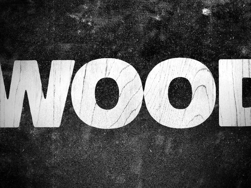 Neighbors are dead as wood motion lyrics typography grunge texture after effects