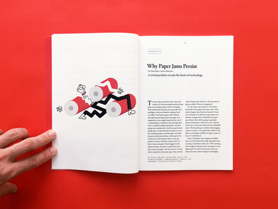 Samizdat 16 minimal typography layout magazine