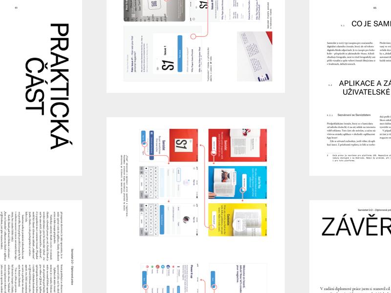 Samizdat 19 layout typography project work school thesis app magazine